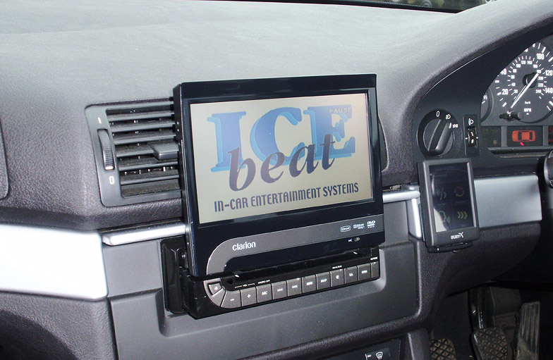 Car Hifi upgrade in a BMW 5 Series