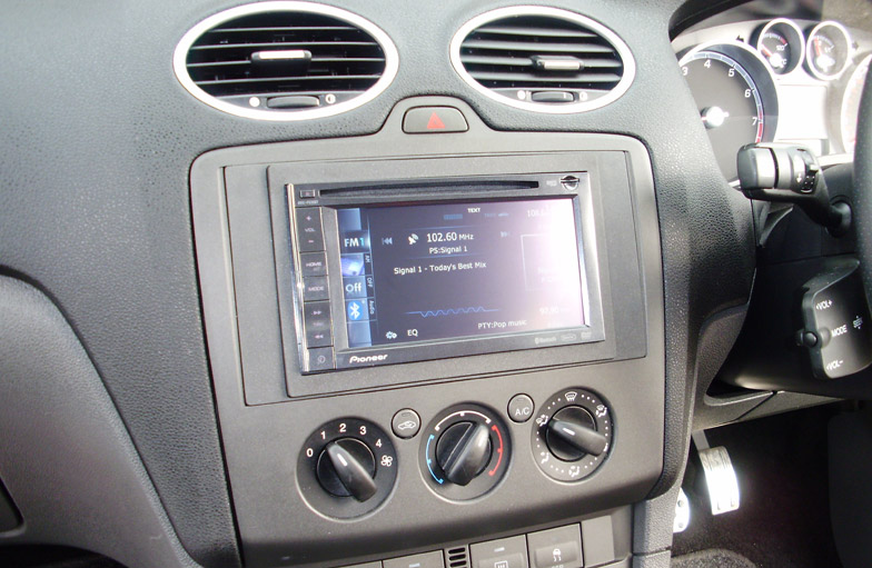 Ford Focus double din upgrade
